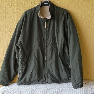 Army green men's jacket Sz XL